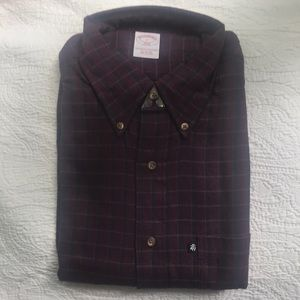 Brooks Brothers Men's Flannel Shirt